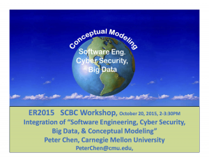 ER2015-SCBC Workshop--Chair & Speakers